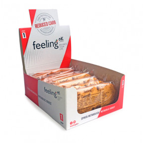 Pacote de 10 Biscoitos FeelingOk Savoiardo Start Frutas do bosque Start 350 g (10 x 35g)