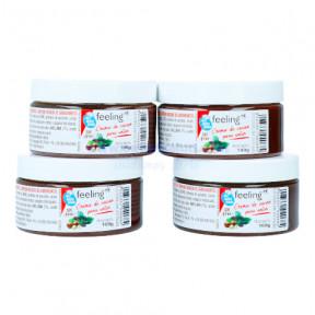Pack of 4 FeelingOk Spalmabile Start Chocolate Spreads 400 g