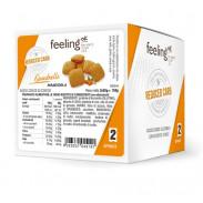 Mini Biscuits FeelingOk Quadrelli Optimize Amandes 150 g