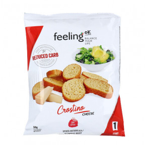 Picatostes de Queso FeelingOk Crostino Start 50 g