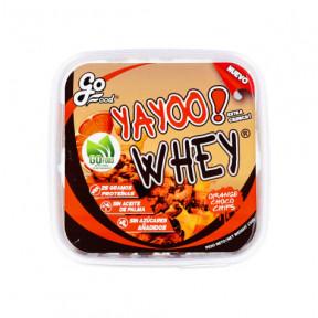Galletas Proteicas Yayoo Whey sabor Naranja con Chips de Chocolate GoFood 150 g