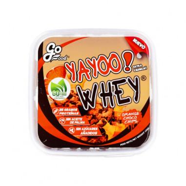 GoFood Orange Choco Chips Yayoo Whey Protein Cookie 150 g
