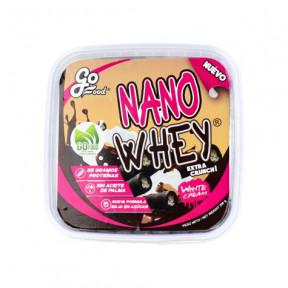 Barquillos Nano Whey Rellenos de Crema Blanca GoFood 200 g