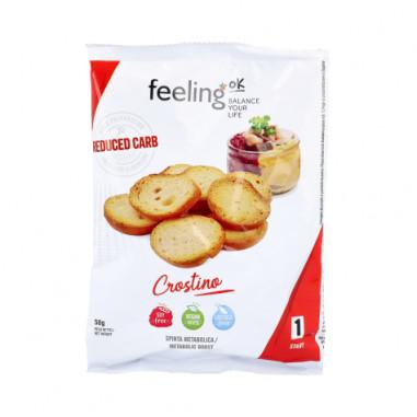 Picatostes de Aceite de Oliva FeelingOk Crostino Start 50 g