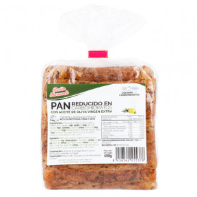 Pain à faible teneur en glucides riche en fibres CSC Foods 450g