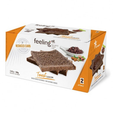 FeelingOk Cocoa Optimize Crispy Bread 160 g
