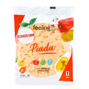 Tortilla FeelingOk Piada Start 100 g 2 unidades