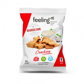 Craquelins FeelingOk Crackers Start Naturel 50 g