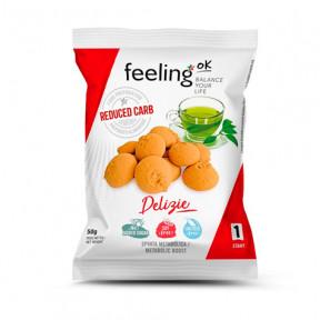 Biscoitos FeelingOk Delizia Start Baunilha-Limão 50 g