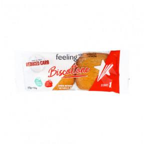Biscoitos FeelingOk Biscottone Start Baunilha-Limão 50 g