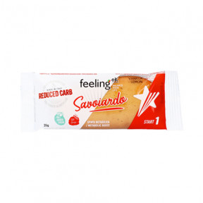 Biscoito FeelingOk Savoiardo Start Baunilha-Limao Start 35 g