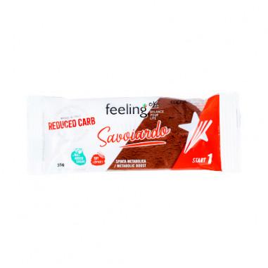 FeelingOk Savoiardo Cacao Start 35g de biscoito
