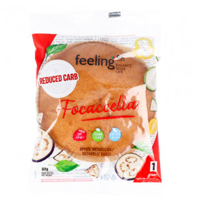 Pão Italiano FeelingOk Focaccella Start Natural 80 g