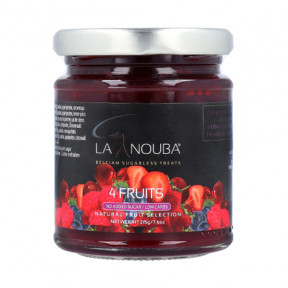 LaNouba four fruits Low Carb Jam 215g