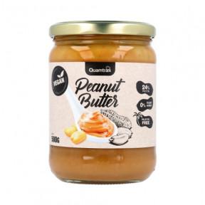 Crema de Cacahuete Vegana Quamtrax 500 g