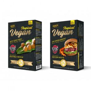 Protein Tropical Vegan Burger Natural Zero 195g
