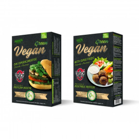 Burger Vegan Green Protein Natural Zero 191g