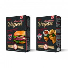 Burger Vegan American Protein Natural Zero 199g