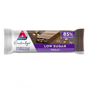 Endulge Bar Chocolate ao Leite Crocante Atkins 30 g