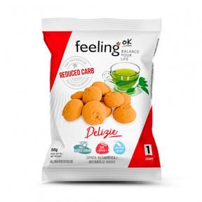 Biscoitos FeelingOk Delizia Start Damasco 50 g