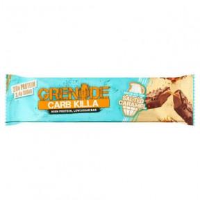 Barre Protéinée Carb Killa goût Caramel salé aux pépites de chocolat Grenade 60 g
