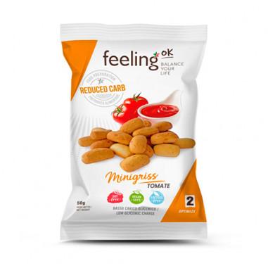 FeelingOk Tomato Minigriss Optimize Mini Breadsticks 50 g
