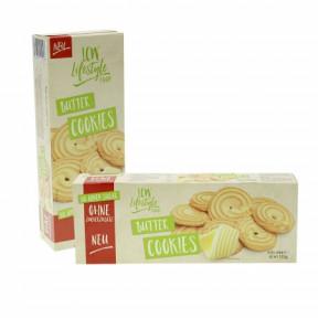 Cookies com manteiga sem adição de açúcar LCW 135g