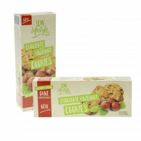 Cookies con chocolate y avellanas sin azúcar añadido LCW 135g