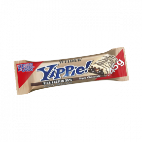 Low Carb Yippie! Triple Chocolate Bar Weider 45 g