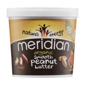 Mantequilla de Cacahuete Ecológico Suave Meridian 1 kg