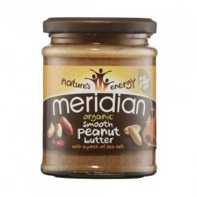 Manteiga de amendoim salgada orgânica Meridian 280g