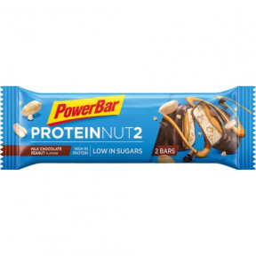PowerBar Protein Nut2 chocolate ao leite e amendoins 45g