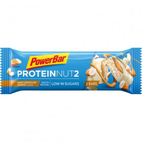PowerBar Protein Nut2 chocolate branco e amêndoas 45g