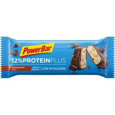 Barre énergétique PowerBar Protein Plus 52% chocolat 50g