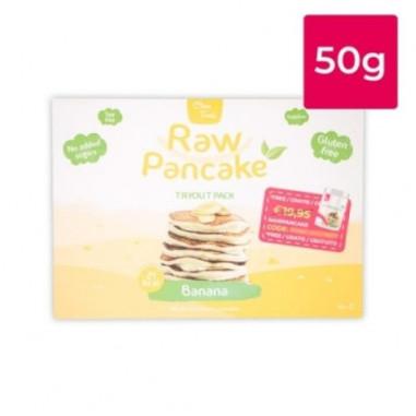 Monodose pour Pancakes Low-Carb Raw goût Banane Clean Foods 50g