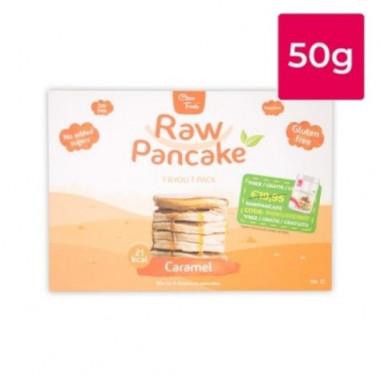 Monodose pour Pancakes Low-Carb Raw goût Caramel Clean Foods 50g