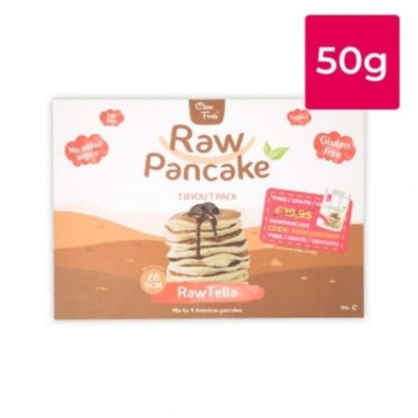 Clean Foods Raw Pancake RawTella Taste 50g