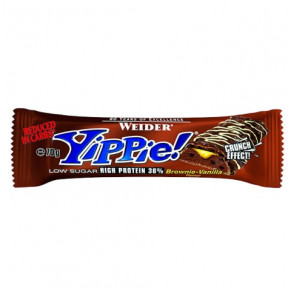 Low Carb Yippie! Bar Brownie-Vanille Weider 70g