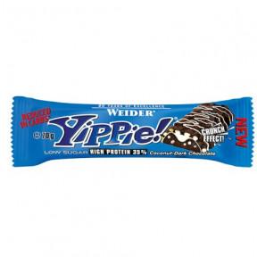 Low Carb Yippie! Bar Noix de coco-Chocolat noir Weider 70g