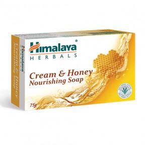 Jabón nutritivo de crema y miel Himalaya 75g