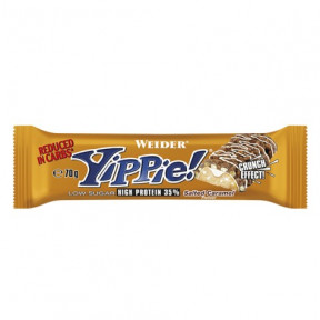 Low Carb Yippie! Bar Salted Caramel Weider 70g