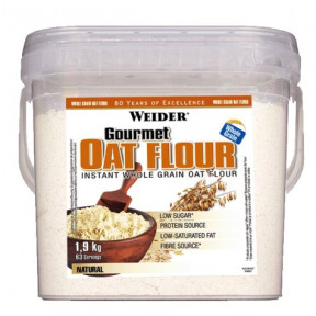 Weider Gourmet Oat Flour Neutral 1,9Kg