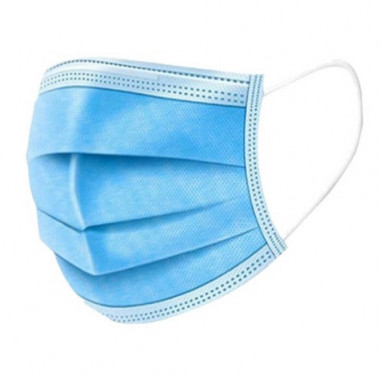 Disposable triple layer surgical mask standard GB / T32610