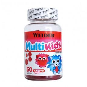 Weider Multi Kids UP saveur de cerise 50 fèves à la gelée