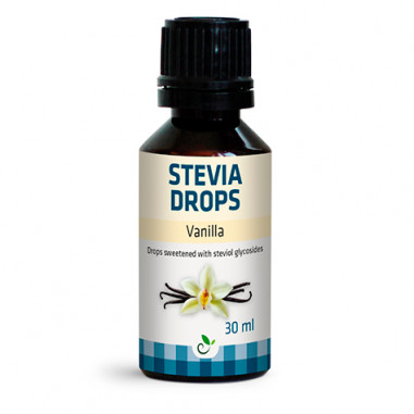 Édulcorant Saveur de Vanille Stevia Drops de Sukrin 30ml