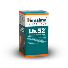 Suplemento alimentar Liv.52 Himalaya 100 comprimidos