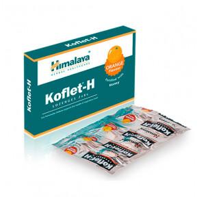 Pastilhas para dor de garganta Koflet-H Himalaia laranja 12(2x6)