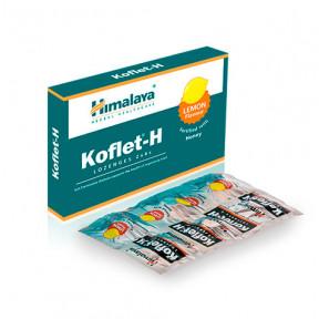 Koflet-H Himalaya citron pastilles pour le mal de gorge 12(2x6)
