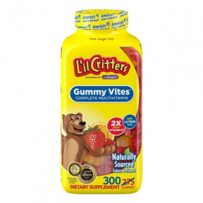 L'il Critters kids Multivitamin and Multimineral (275 count)