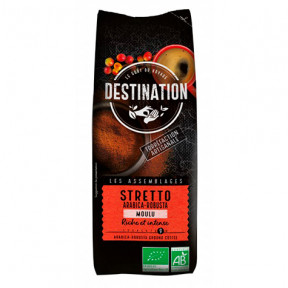 Italian Stretto Ground Organic Coffee Destination 250 g